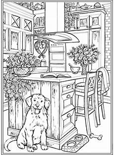 from creative home sweet home coloring book dover