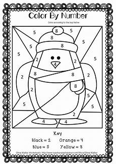 winter themed worksheets pre k 20105 winter math numbers to 10 recognise numbers to ten worksheets printables penguin coloring