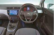 seat arona interior sat nav dashboard what car
