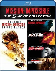 mission impossible 5 mission impossible 1 5 boxset zavvi