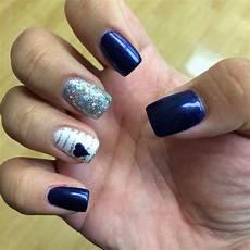 dallas cowboys nails by cosmic beauty hawaii cowboy