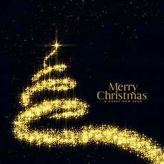 merry christmas sparkle vector free vector merry christmas tree in sparkle and glitter