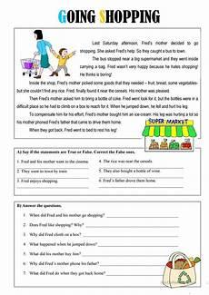 worksheets shopping 18462 going shopping worksheet free esl printable worksheets made by teachers exerc 237 cios de ingl 234 s