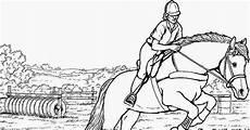Ausmalbilder Springende Pferde Pferde Bilder Malvorlagen