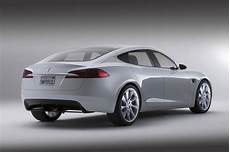 Tesla Model S 50 000 Electric Car That Seats Seven