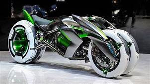 Futuristic Motorcycle Image By Leader