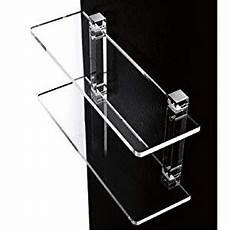 supporti per mensole mensole da bagno in plexiglass con supporti trasparenti