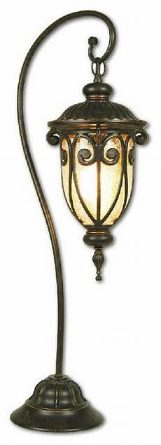 antique outdoor metal and water glass floor l for