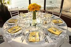yellow and gray wedding centerpieces wedding and event