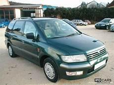 2000 mitsubishi space wagon 2 4 gdi cool klima ahk 6 sitze