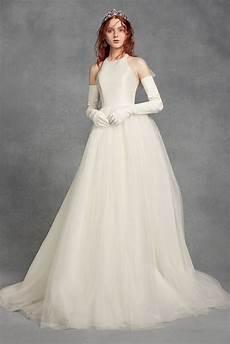 White Wedding Dress 200 vw351419 style sleeveless halter neck bridal