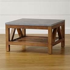 copper coffee table crate and barrel bluestone square coffee table crate and barrel