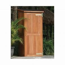armoire de jardin santiago en bois dur toit bitume