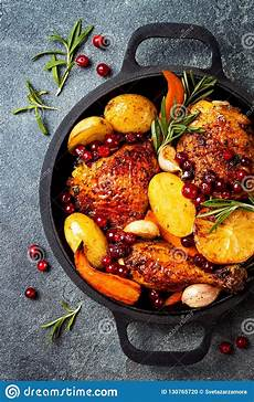 roasted chicken with root vegetables lemon garlic