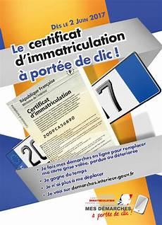 La Carte Grise 224 Port 233 E De Clic