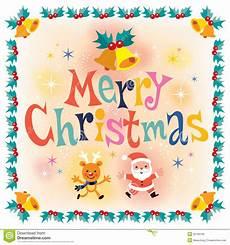 merry christmas vintage retro style card stock vector illustration of banner celebration