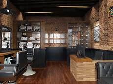Photo Barbershop Interior Bostoncap Barber 5 Desain