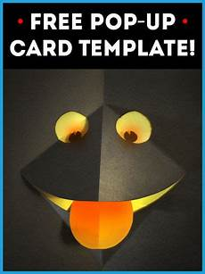 free pop up card template no 1 cards pop up card