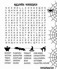 halloween word searcph english corner