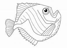 malvorlagen zum ausdrucken ausmalbilder fische kostenlos 2