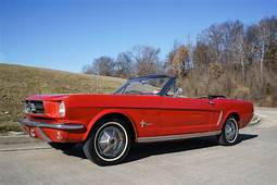 Ford Mustang Convertible 1965 Red For Sale