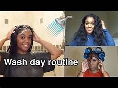 my full wash day routine relaxed hair peggypeg youtube
