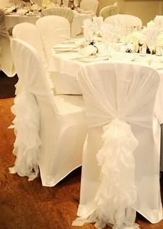 wedding chair covers droitwich ruffled chair sash chiffon chair sash chair hood chair etsy