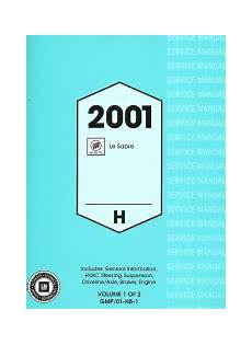 manual repair autos 2001 buick lesabre electronic toll collection 2001 buick lesabre factory service manual 2 volume set