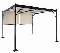 alu 3x3 m pavillon garten markise sonnenschutz terrassen
