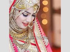 Latest Bridal Hijab Styles Dresses Designs Collection 2020