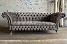 chesterfield sofa grau design chesterfield luxus 3 sitzer sofa premium klasse