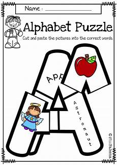 the letter a worksheets for kindergarten 24661 alphabet letter puzzles uppercase day of school activities alphabet lettering