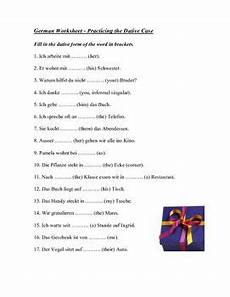 german dative worksheets 19628 1 page sheet to practice the dative including indirect pronouns prepositions and dative