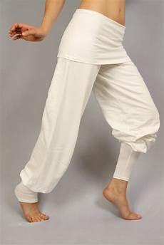 Günstige Weiße Hosen - yogahose quot sohang quot wei 223 im yogishop kaufen