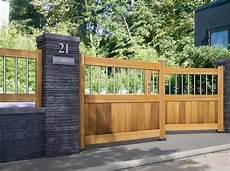 portail en bois portail design bois the doors gates diy