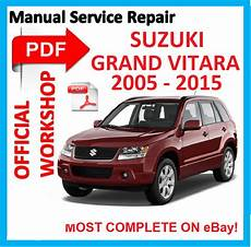 car repair manuals online free 2005 suzuki xl 7 electronic throttle control official workshop manual service repair for suzuki grand vitara 2005 2015 ebay