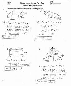 surface area and volume worksheets grade 10 briefencounters
