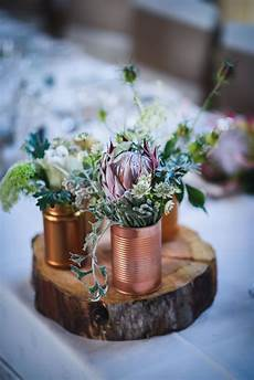 wedding flowers centre piece a little bit of south africa with the national flower protea