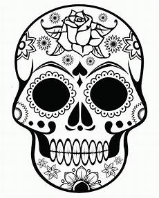 Ausmalbilder Erwachsene Totenkopf Skull Coloring Pages For Adults Coloring Home