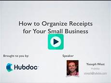 how to organize receipts for small business how to organize receipts for your small business youtube