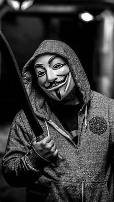 Gambar Wallpaper Hd Anonymous Iphone Terbaru 2020