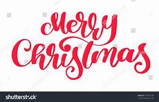 text merry christmas written calligraphy stock vector 759303178