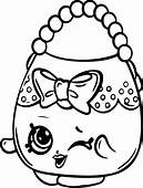 Shopkins Coloring Pages  ColoringPagesOnlycom