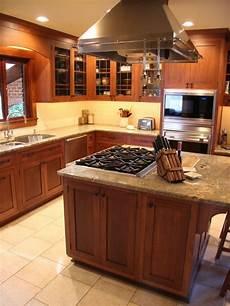 kitchen island cooktop houzz