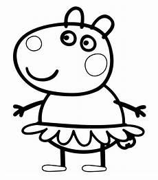 Peppa Wutz Kostenlose Ausmalbilder Peppa Wutz Malvorlage Das Beste Peppa Pig Coloring