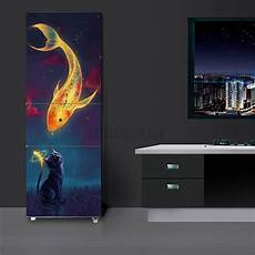 3d sticker 3d wall art sticker vinyl decal self adhesive door fridge