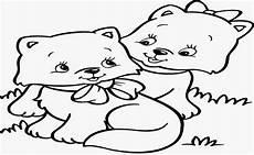 Gambar Mewarnai Hewan Kucing Kumpulan Gambar Mewarnai Update