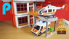 Playmobil Ausmalbild Krankenhaus Hubschrauber Landeplatz Kinderklinik 6445 Playmobil City