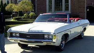 1969 Chevy Impala SS 427/350HP Classic Muscle Car For Sale