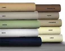 queen brown 500tc 4pc 100 cotton bed sheet flat and fitted sheets ebay